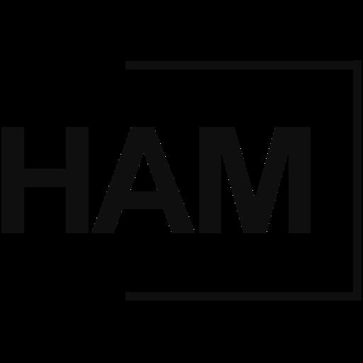 Het logo van van der Ham